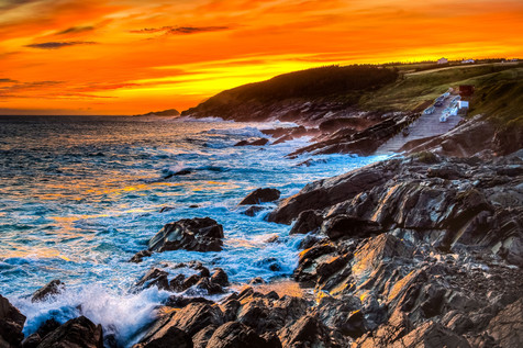 First To See The Sun - Pouch Cove, Newfoundland