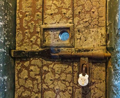 Kilmainham Gaol Door - Dublin