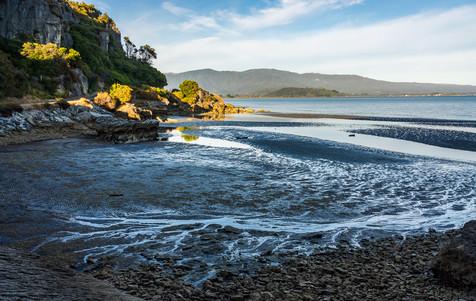 Low Tide Along Golden Bay - Pohara