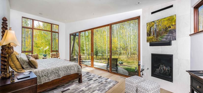 Master Bedroom and Aspen - Beaver Creek, Colorado