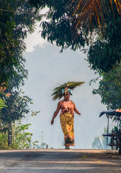 The Broom Vendor - Sangklaburi