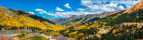 Red Mountain Pass in Full Autumn Glory - Ourey, Colorado