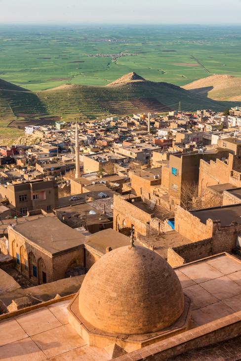 Looking South Toward Syria and the Mesopotamian Plains - Mardin, Turkey