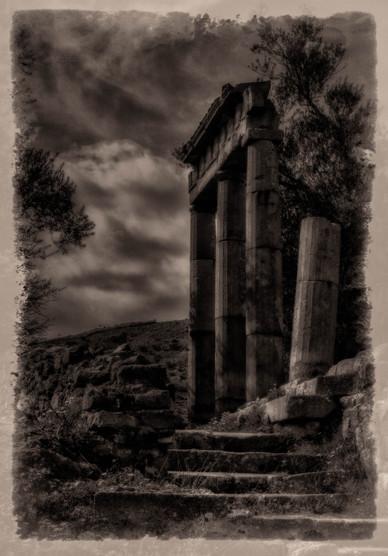 The Ruins at Pergamon - Bergama, Turkey