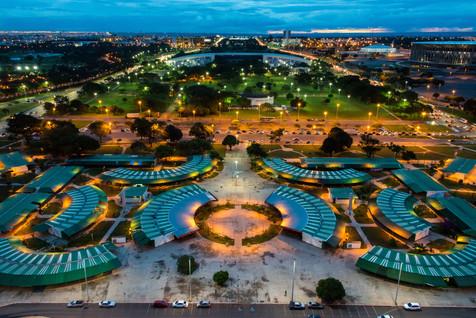 Brasilia at Dusk - Brasilia, Brazil
