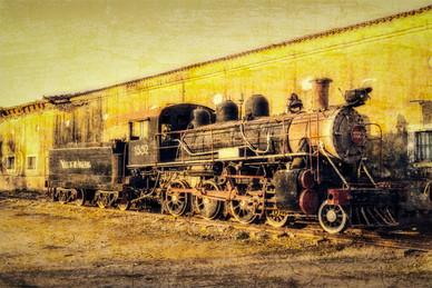 Valle de los Ingenios Locomotive - Trinidad, Cuba