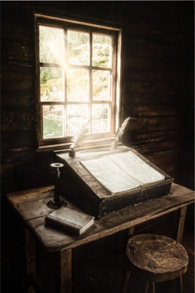 Thomas' Desk - Random Passage, New Bonaventure, Newfoundland