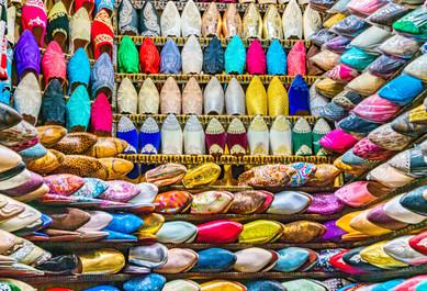 Mens Shoe Store - Fes Medina, Morocco