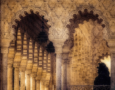 Mohammaed V Atrium Temple - Rabat, Morocco
