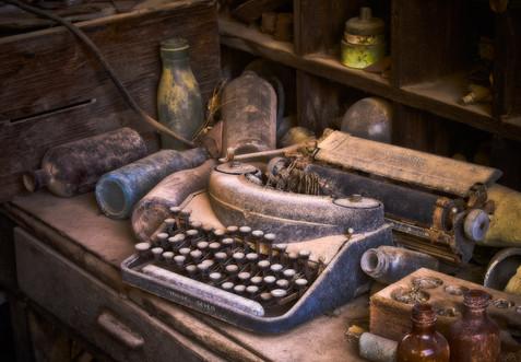 Gold King Mine Typewritter