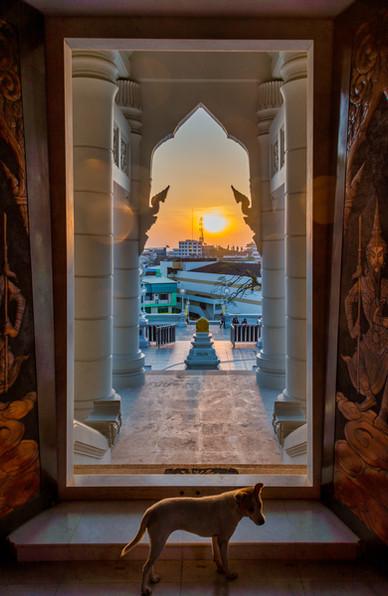 Wat Kaew at Sunrise - Krabi