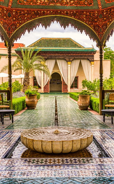 Le Jardin Secret - The Secret Garden - Marrakesh, Morocco
