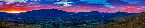 Sunrise Over The Remarkables - Coronet P