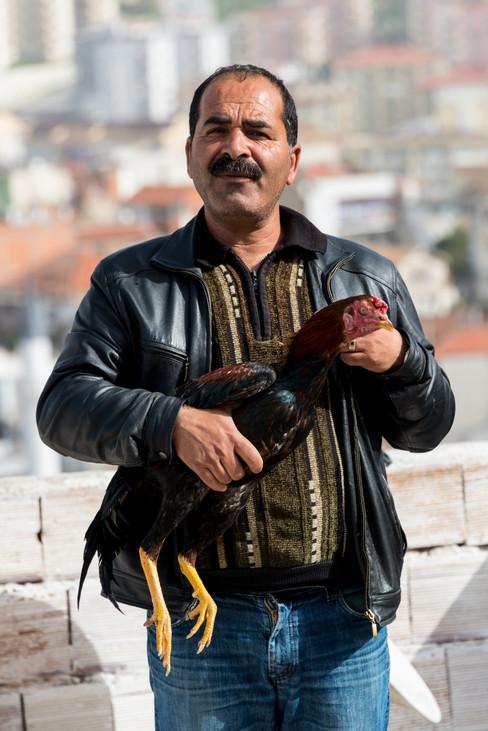 Finding Pride and Joy in One's Fighting Cock - Kusadasi, Turkey