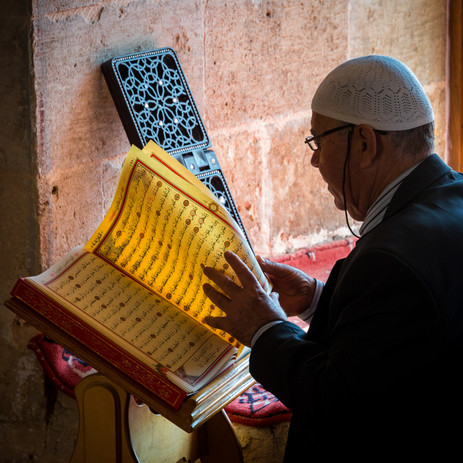 Studying the Quran - Mardin, Turkey