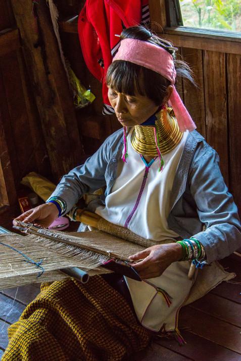 Long-necked Weaver - Inle Lake, Myanmar