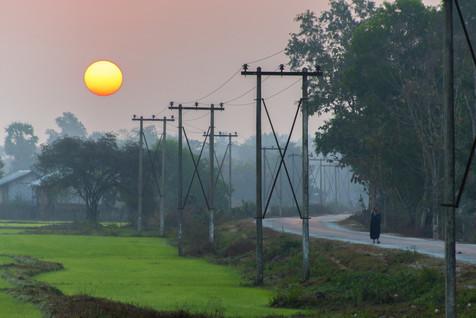 As the Day Dawns - Near Toungoo