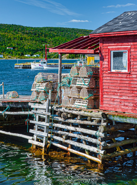 Fishing Stage and Stage Head - Cape Broyle, Newfoundland