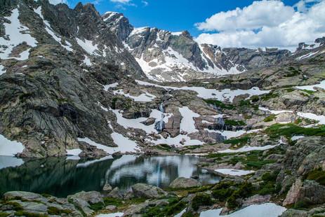 Alpine Lake in Early Summer - Holy Cross Wilderness - Minturn, Colorado
