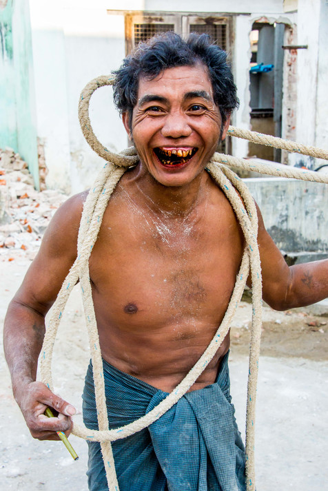 A Happy Guy - Toungoo