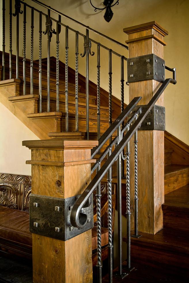 Stairway Detail - Bachelor Gulch, Colorado