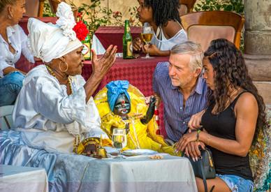 The Santaria Fortune Teller - Havana, Cuba