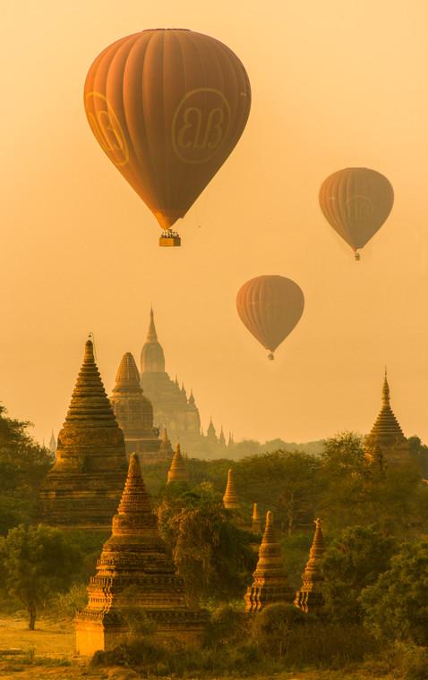 Balloons Over Bagan - Bagan, Myanmar