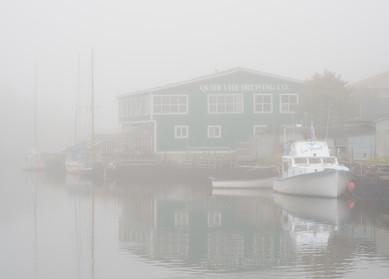 Fog in the Harbor of Quidi Vidi - Newfoundland