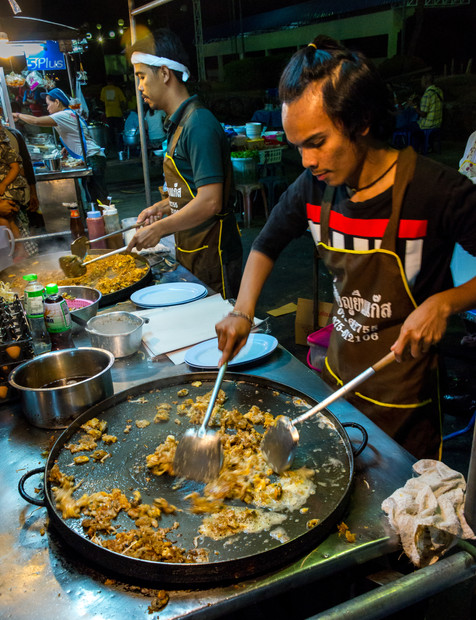 Cooking at the Night Market - Krabi