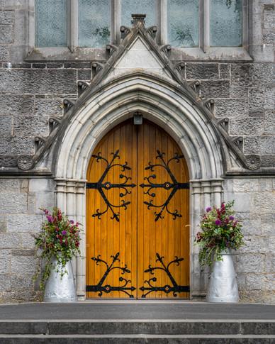 Church Door - Adare, County Limerick