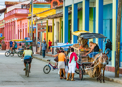Baracoa Street Scene - Baracoa, Cuba