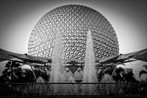 Epcot Abstract - Epcot Center, Florida