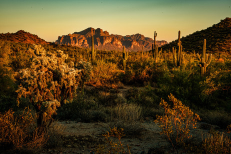 The Superstitions - Usery Mountain Regional Park
