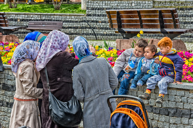 Where'd the Red Head Come From? - Sultanahmet, Istanbul, Turkey