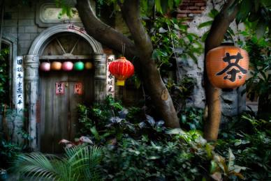 Alley of the Nine Turns - Lugang, Taiwan