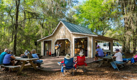Kickin' Back for Concert - Stephen Foster Folk Culture Center State Park, Florida