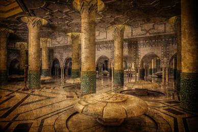 Ablutions Hall - Hassan II Mosque, Casablanca, Morocco