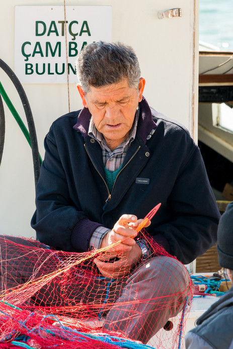 Doing What Fisherman Have Always Done - Bodrum, Turkey