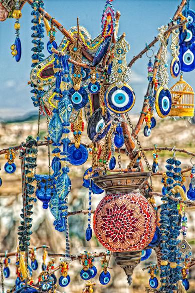 Evil Eye Tree -Goreme, Cappadocia, Turkey