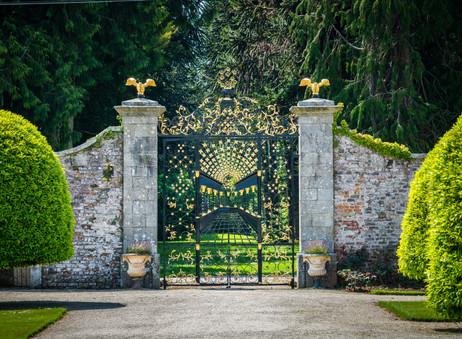 Garden Gate - Powerscourt Gardens, County Wicklow
