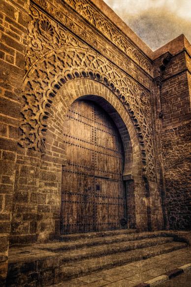 Moroccan Entryway - Rabat, Morocco