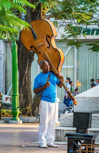 The Bassist - Santiago de Cuba, Cuba