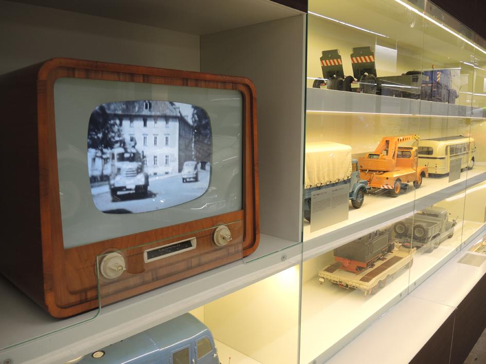 Schrankwand Verkehrsmuseum Dresden