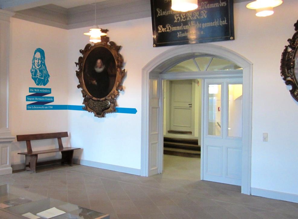 Foyer FST Jubiläumsausstellung