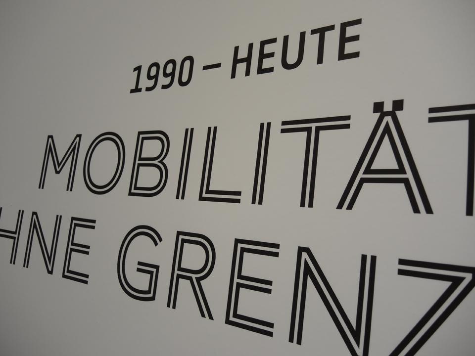 Schriftbild Verkehrsmuseum Dresden