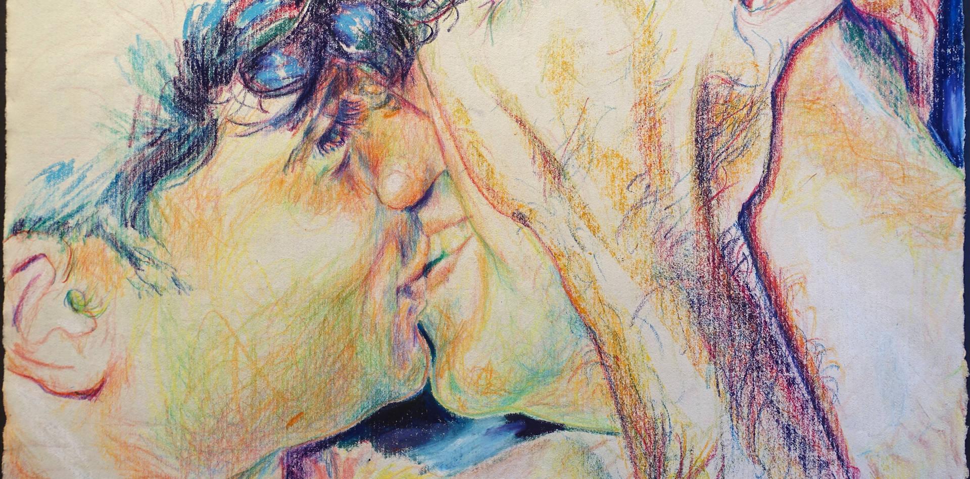 Kuss, aus der Serie: Q-GASSE