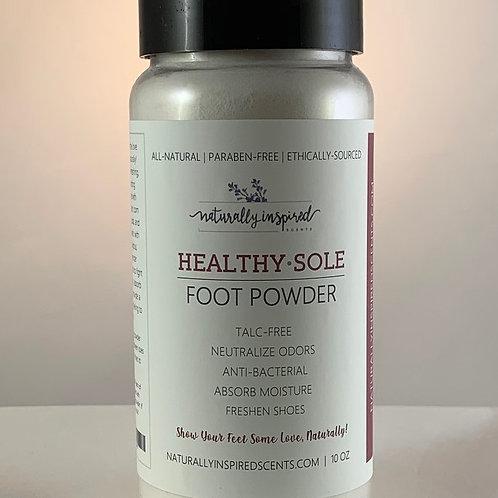 HEALTHY SOLE | FOOT & SHOE POWDER
