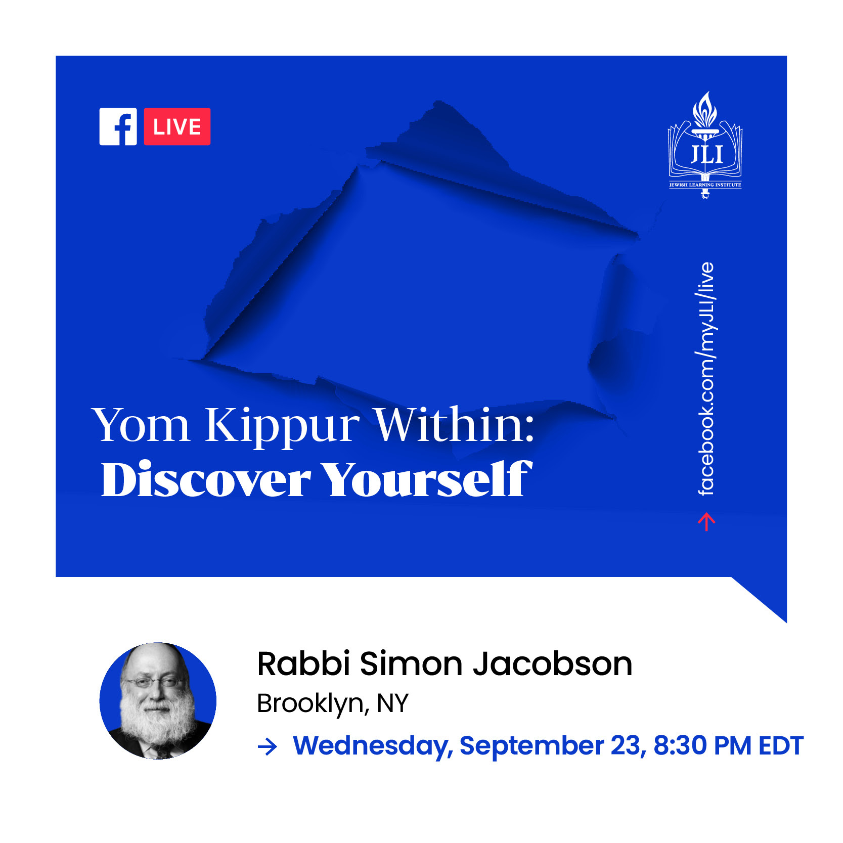 Yom Kippur Within- Discover Yourself