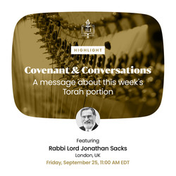 Covenant and Conversations