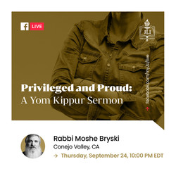 Priveledged and Proud- A Yom Kippur Serm